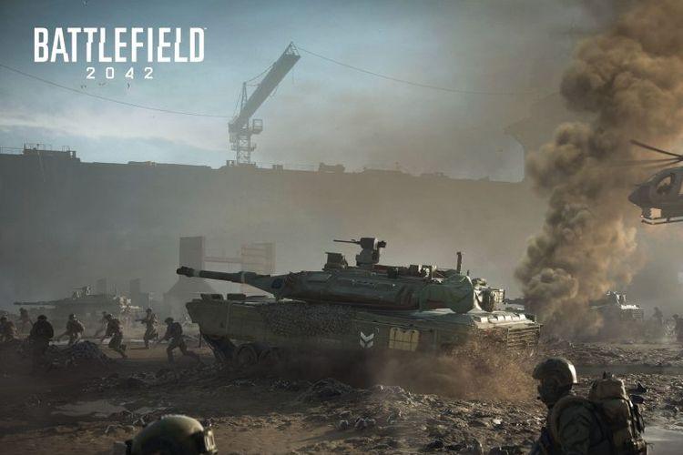 Ilustrasi Battlefield 2042.