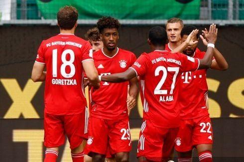 Hasil Babak I Wolfsburg Vs Bayern, Die Roten Unggul 2 Gol