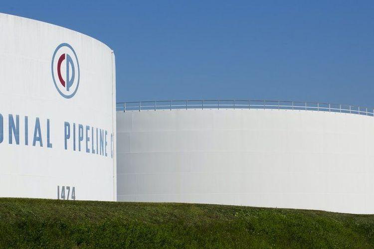 Colonial Pipeline, perusahaan penyalur minyak terbesar di Amerika Serikat (AS). Pada pekan lalu, perusahaan ini menjadi korban serangan siber sehingga pemerintah AS mengumumkan kondisi darurat nasional.