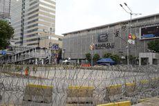 Jalan Depan Gedung Bawaslu Masih Ditutup