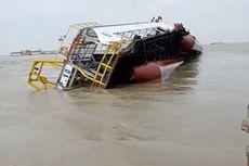 Kapal Milik PT Timah Tenggelam di Perairan Prayun, Riau