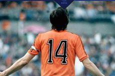 Hormati Cruyff, Belanda Vs Perancis Akan Jeda Menit Ke-14