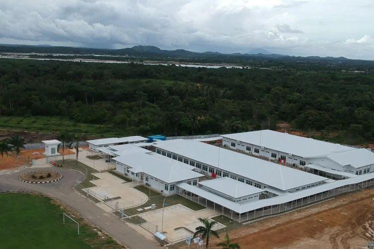 Instalasi khusus karantina Covid-19 di RSUD Soekarno Kepulauan Bangka Belitung.