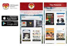 Perpustakaan Digital Pertama Kedutaan Indonesia di KBRI Bangkok