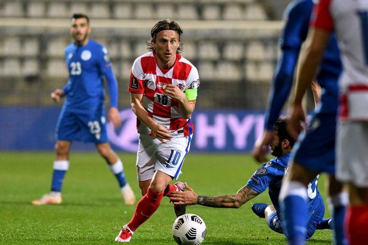 Kapten timnas Kroasia, Luka Modric, memecahkan rekor penampilan negaranya saat finalis Piala Dunia 2018 tersebut mengalahkan Siprus 1-0 di Rijeka pada laga Grup H Kualifikasi Piala Dunia 2022, Minggu (27/3/2021) dini hari WIB.