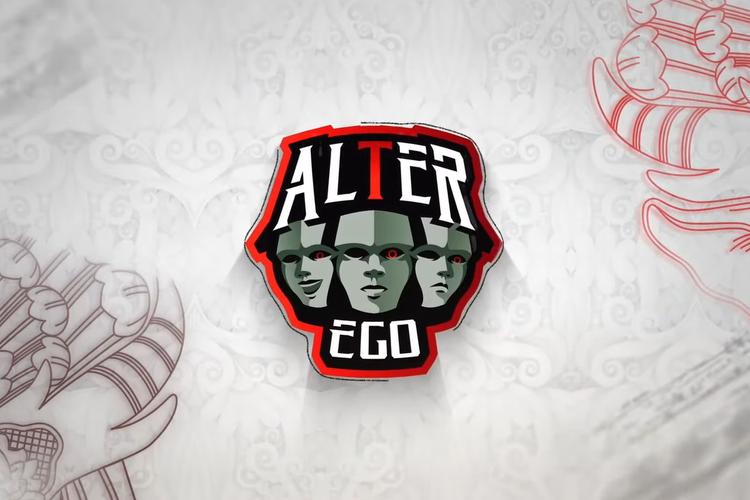 Ilustrasi tim e-sports Alter Ego.