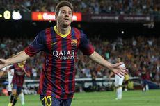 Messi 2, Neymar 1, Barca Ungguli Thailand 5-1