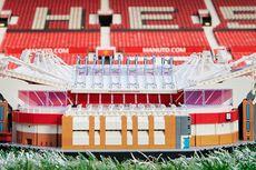 Kreasi Stadion Old Trafford Manchester United dari 3.898 Lego