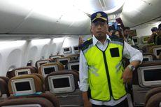 Menhub Ramp Check Pesawat di Bandara Soetta Jelang Natal dan Tahun Baru