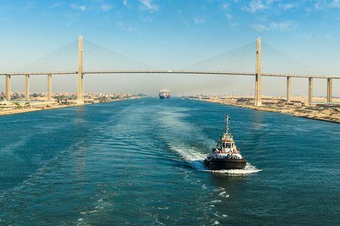 4 Fakta Unik Terusan Suez, Jalur Pelayaran Terpadat Dunia