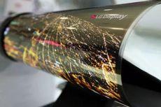 LG Pamer Layar Gadget yang Bisa Digulung