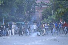 Bawa Badik dan Lempar Batu Saat Demo di DPRD Kaltim, 2 Mahasiswa Jadi Tersangka