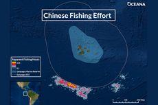 300 Armada Kapal China Ditemukan Jarah Ikan di Perairan Galapagos yang Mengancam Spesies Laut Langka
