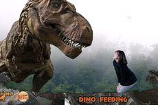 Jelang Imlek, Ada Wahana Wisata Baru Bertema Dinosaurus di Bandung
