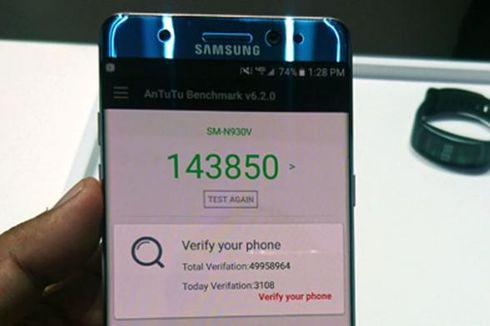 Menguji Performa Galaxy Note 7 dengan AnTuTu