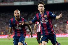 Dani Alves Ungkap Alasan Lionel Messi Bisa Jadi Pembeda di Pertandingan