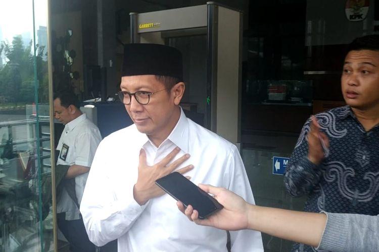Komisi Pemberantasan Korupsi (KPK) telah meminta keterangan Menteri Agama Lukman Hakim Saifuddin, Rabu (22/5/2019).