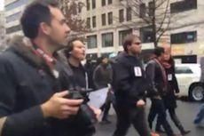 Akibat Meliput Demonstrasi Anti-Trump, 6 Jurnalis Ditahan