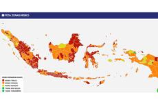 UPDATE Daftar 240 Zona Merah Covid-19 di Pulau Jawa dan Sumatera