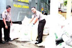 Polisi Jember Bongkar Penyelewengan 16 Ton Pupuk Subsidi