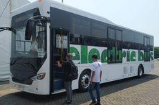 Bus Listrik MAB Tes Jalan Kudus ke Jakarta, Tembus 130 Kpj