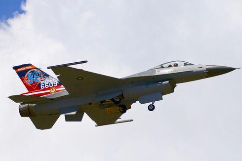 Taiwan Beli Jet Tempur F-16 dari AS, China Berang