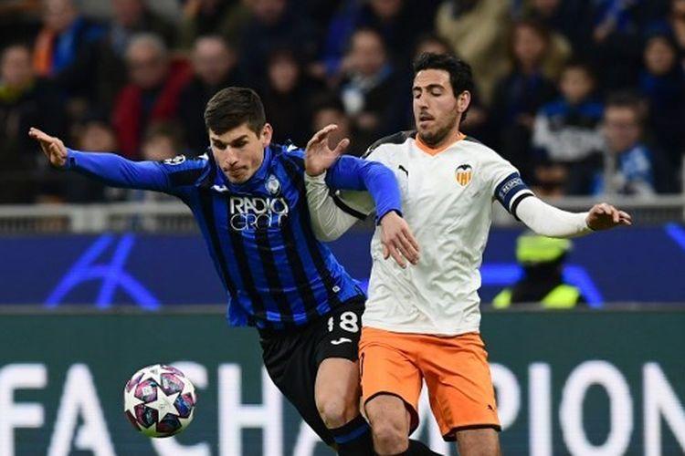 Atalanta vs Valencia pada leg pertama babak 16 besar Liga Champions, Kamis (20/2/2020) dini hari WIB.