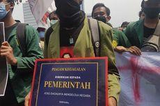 Kembali Demo Tolak Omnibus Law, Massa BEM SI Bawa Piagam Kegagalan untuk Pemerintah
