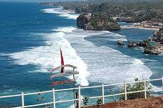 Libur Lebaran, Pantai di Gunungkidul Dipadati Pengunjung dari Luar Yogyakarta