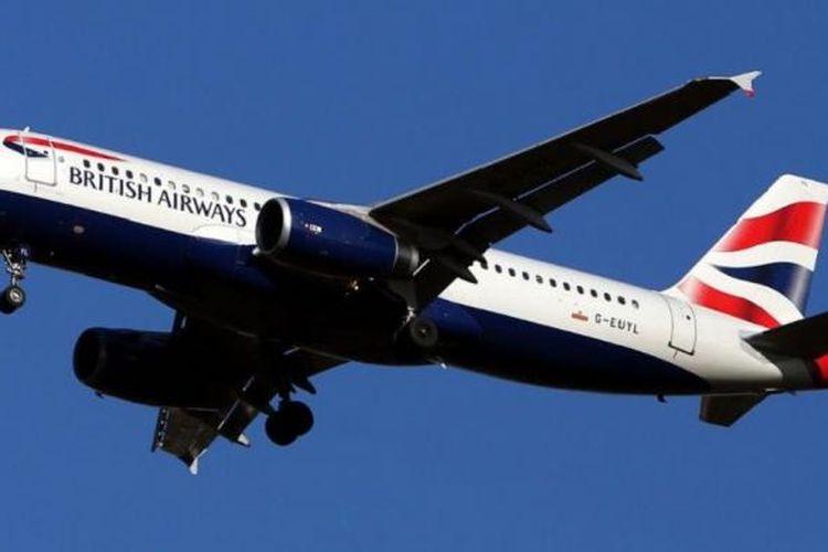 Pesawat British Airways yang sedang terbang menuju Pulau Kreta, Yunani, akhirnya kembali mendarat di Gatwick, Inggris, Kamis (21/7/2016) karena bau busuk menyengat di seluruh kabin pesawat itu.