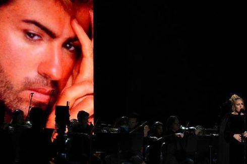Adele Menangis Saat Bawakan Lagu George Michael di Panggung Grammy