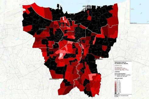 Hoaks, Sejumlah Kelurahan di Jakarta Disebut Masuk Zona Hitam Covid-19
