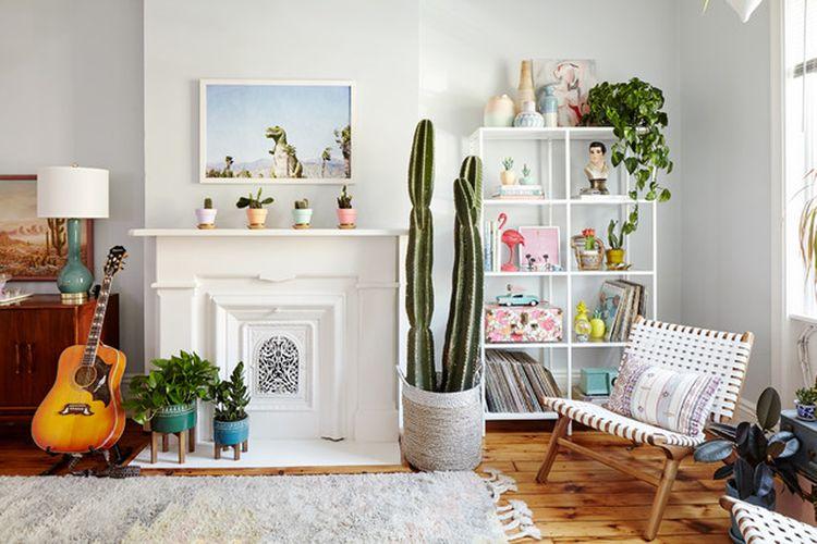 Penataan tanaman interior oleh Michelle Gege