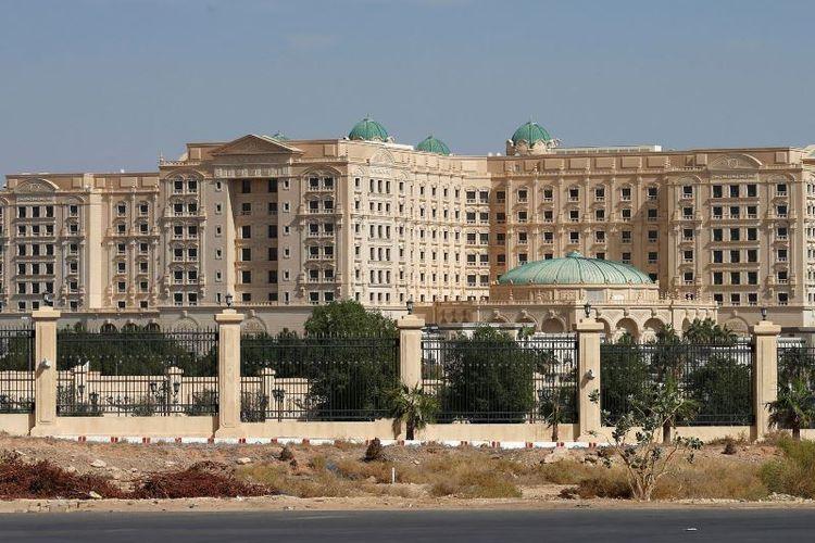 Hotel Ritz Carlton di Arab Saudi memiliki sekitar 500 kamar. (Sky News)
