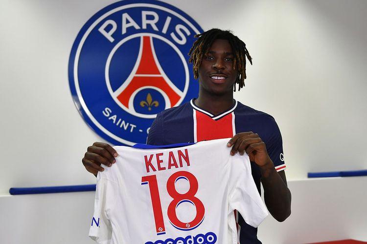 Moise Kean resmi bergabung ke Paris Saint-Germain (PSG) dengan status pinjaman dari Everton, pada Minggu (4/10/2020) atau Senin dini hari WIB.