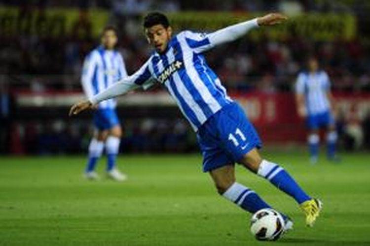 Striker Real Sociedad, Carlos Vela.