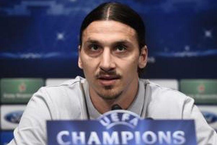 Bomber Paris Saint-Germain, Zlatan Ibrahimovic.
