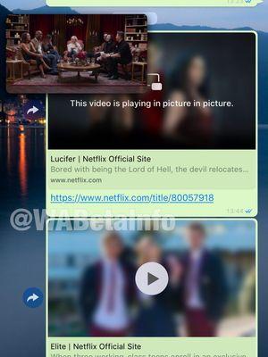 Ilustrasi fitur pemutar video Netflix di aplikasi WhatsApp