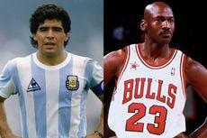 Mimpi Maradona tentang Michael Jordan yang Tak Pernah Terwujud