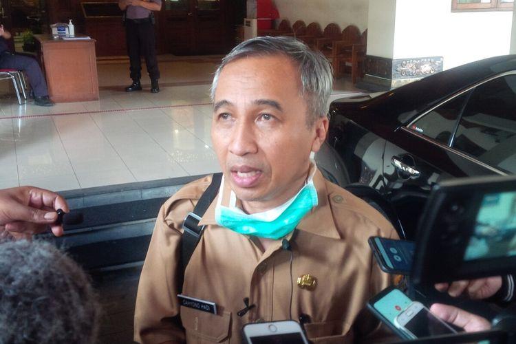 Direktur RSUD Dr Moewardi Kota Surakarta, Cahyono Hadi ketika ditemui di Balai Kota Surakarta, Jawa Tengah, Senin (23/3/2020).