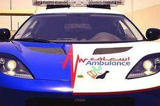 Lotus Evora Disulap Jadi Ambulans di Dubai