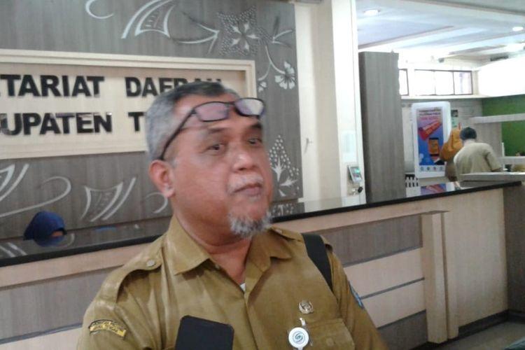 Jubir Covid-19 Kabupaten Tegal dr. Joko Wantoro