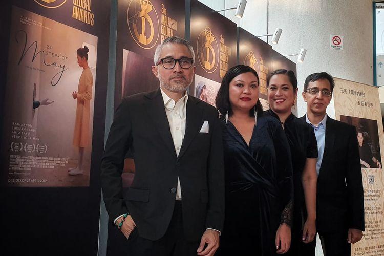 Film 27 Steps of May karya Ravi Bharwani memenangkan penghargaan dalam ajang The 3rd Malaysia Golden Global Awards (MGGA 2019), Malaysia International Film Festival.