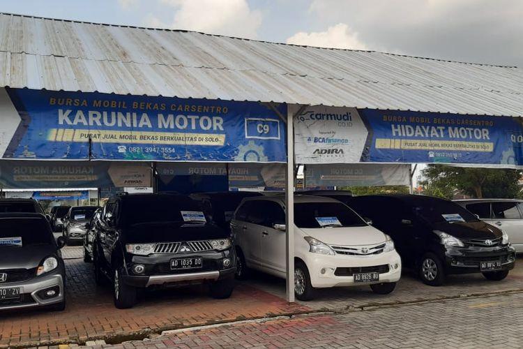 Potret bursa mobil bekas di Carmudi Carsentro Solo Baru