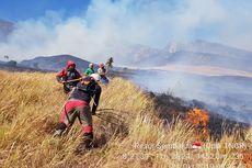 Pemadaman Kebakaran Hutan di Gunung Rinjani Dilanjutkan