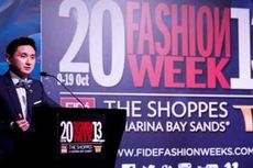 Sebastian Gunawan Ambil Bagian dalam Marina Bay Sands Fashion Week 2013