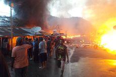 150 Kios Terbakar Saat Kerusuhan di Oksibil, Papua