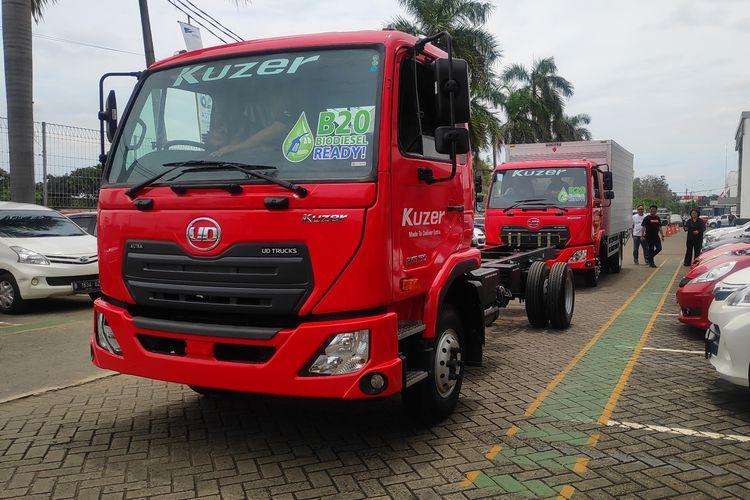 UD Trucks Kuzer untuk pasar truk ringan tanah air