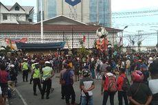 Aksi Protes Warga Jayapura Papua Terkonsentrasi di 2 Titik
