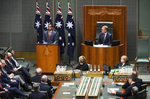 Presiden Jokowi di Hadapan Anggota Parlemen Australia: Good Day Mate
